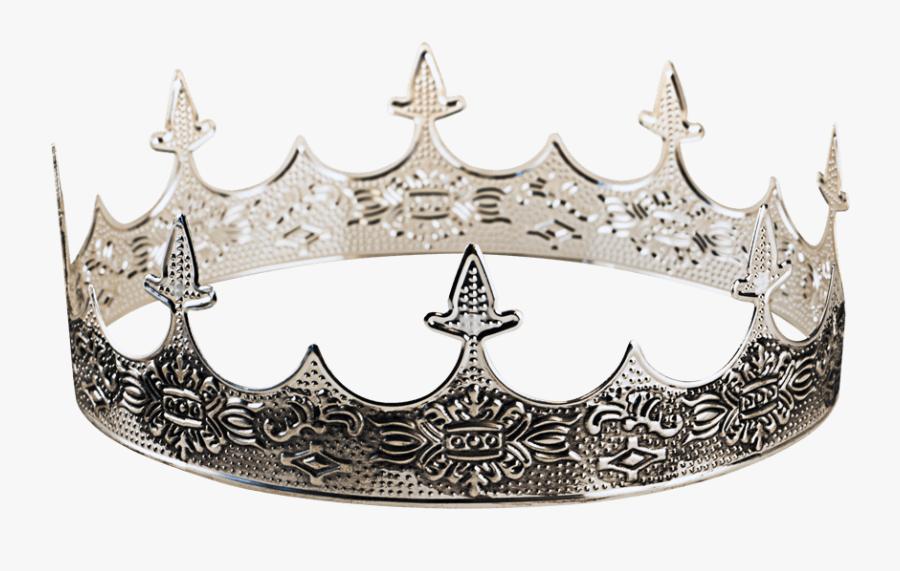 Transparent Silver Princess Crown Clipart - Medieval Crown, Transparent Clipart