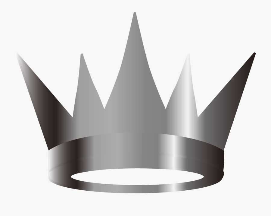 Vector Silver Crown Png Download - Silver Crown Vector Png, Transparent Clipart