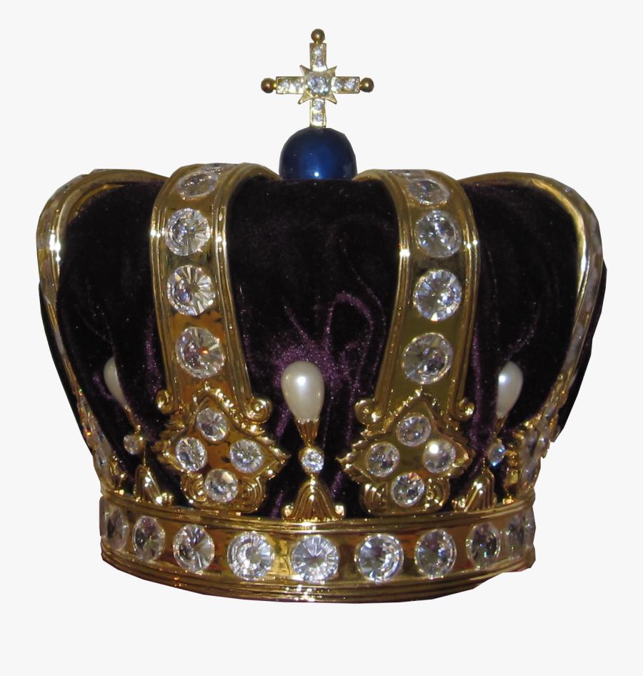 Silver Crown Png - English Crown Transparent Background, Transparent Clipart