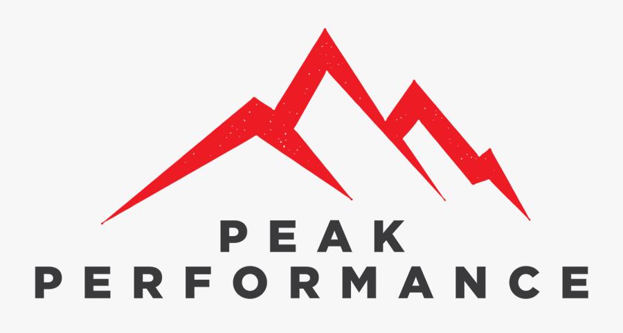 Peak Performance - Peak Performance Logo, Transparent Clipart
