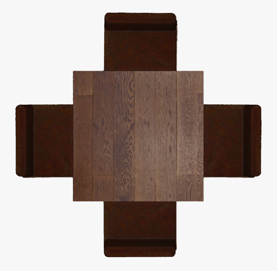 Transparent Top View Furniture Clipart - Top View Table Png, Transparent Clipart