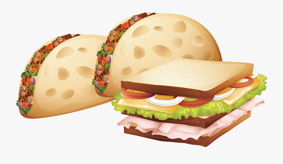 Fries Clipart Breakfast - Sandwich Royalty Free, Transparent Clipart