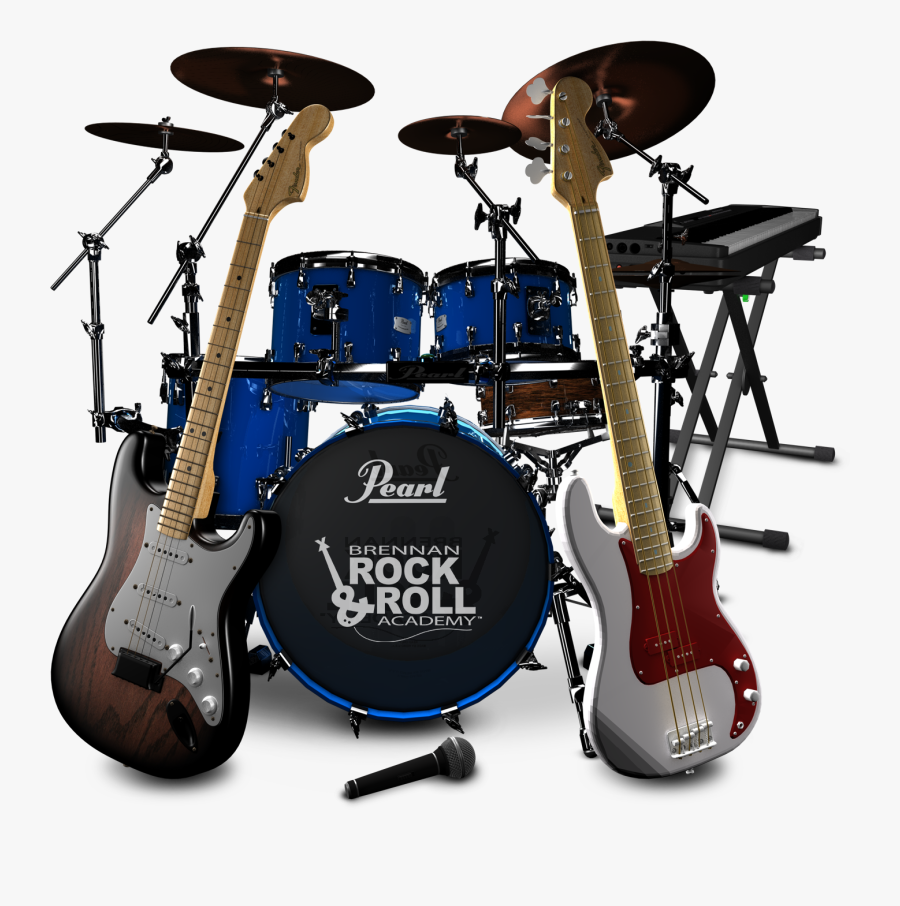 Music Instruments Png Images - Set Of Musical Instruments Png, Transparent Clipart
