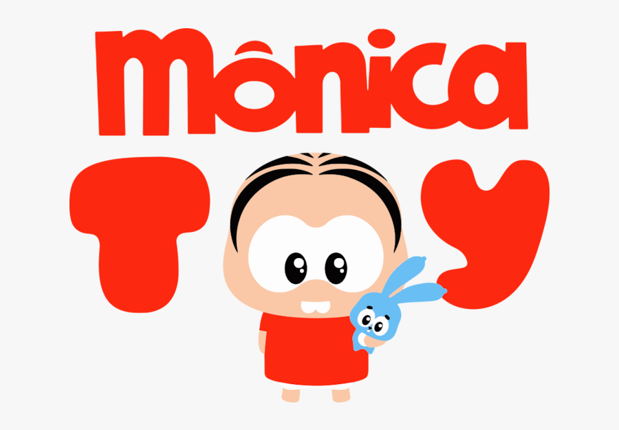 Transparent Kids Fighting Over Toys Clipart - Monica Toy, Transparent Clipart