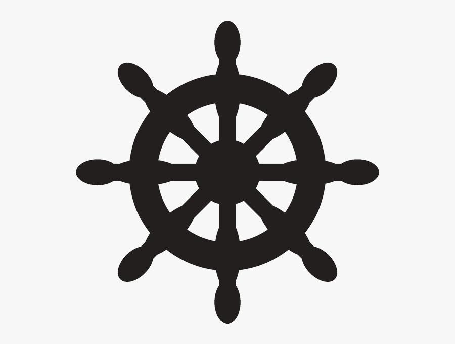 "Ship""s Wheel Helmsman - Clip Art Nautical, Transparent Clipart"