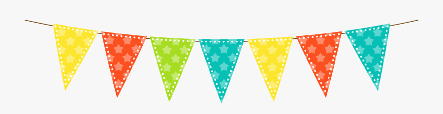 Collection Of Bunting - Transparent Bunting Clear Background, Transparent Clipart