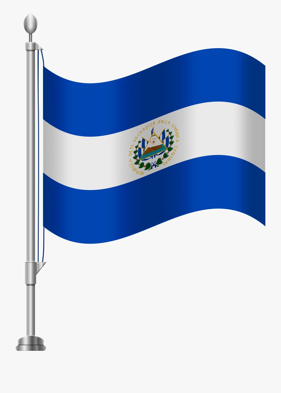 El Salvador Flag Png Clip Art, Transparent Clipart