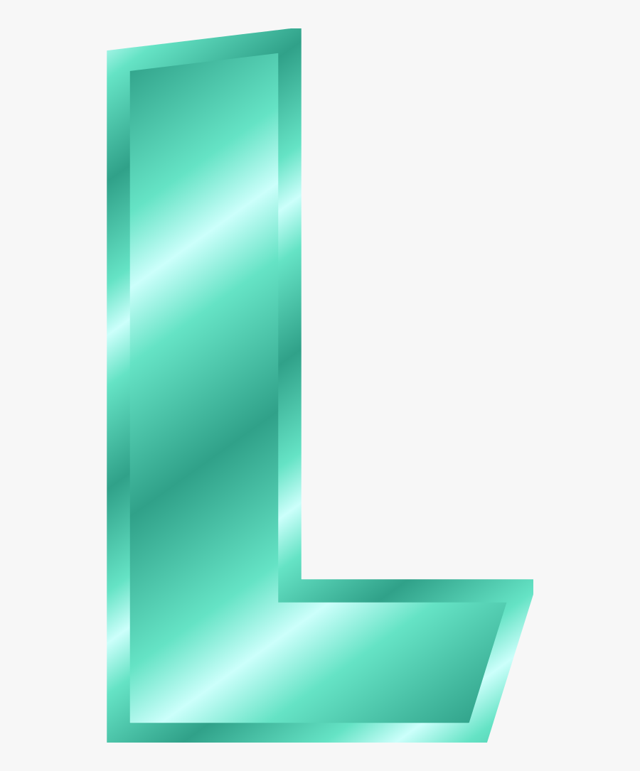 Large Medium Thumb - Letter L Clipart, Transparent Clipart