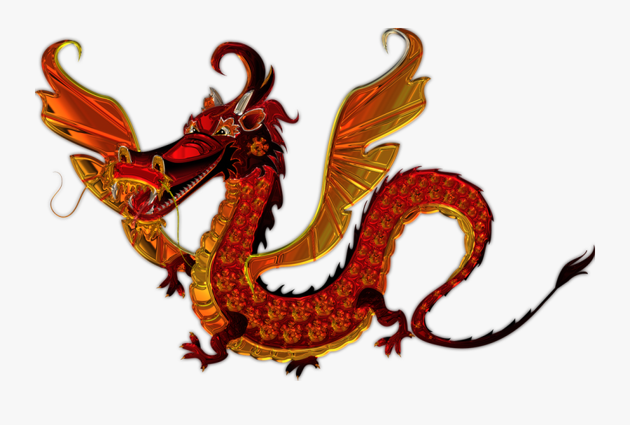 Transparent Chinese Dragons Clipart - Chinese Dragon Cartoon, Transparent Clipart