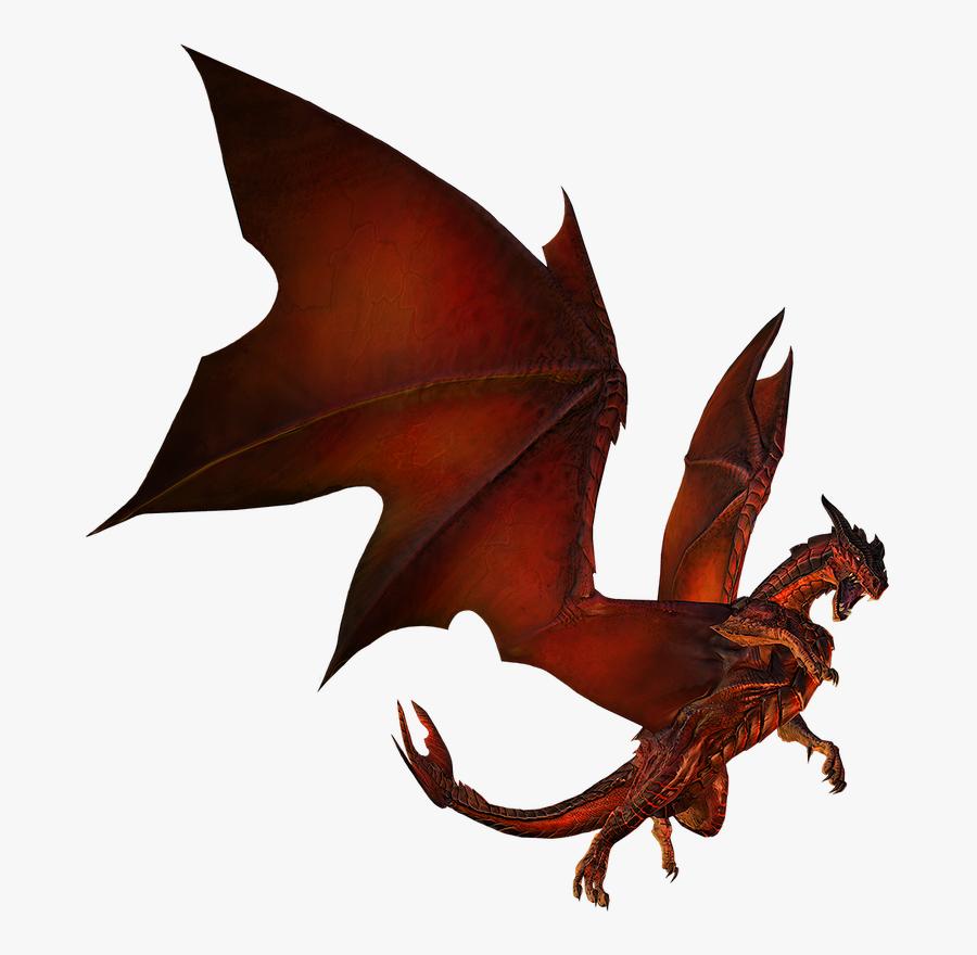 Dark Souls Dragon Smaug Fire Breathing Clip Art - Fire Breathing Dragon Png, Transparent Clipart