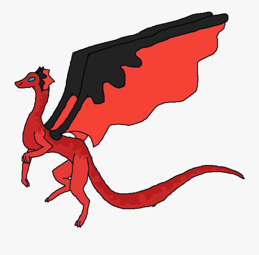 Transparent Fire Dragon Png - Illustration, Transparent Clipart