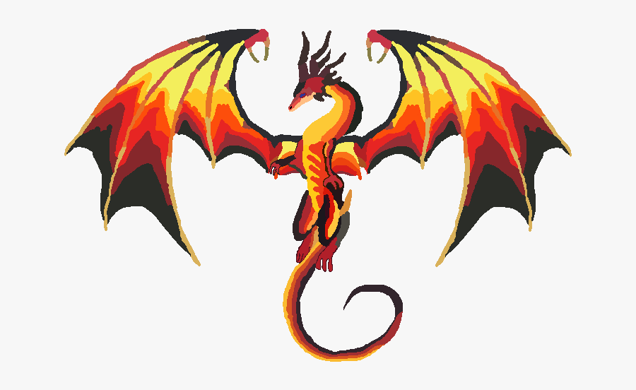 "I Usually Don""t Do Flying Dragons So This Was A Twist - Draw A Fire Dragon, Transparent Clipart"