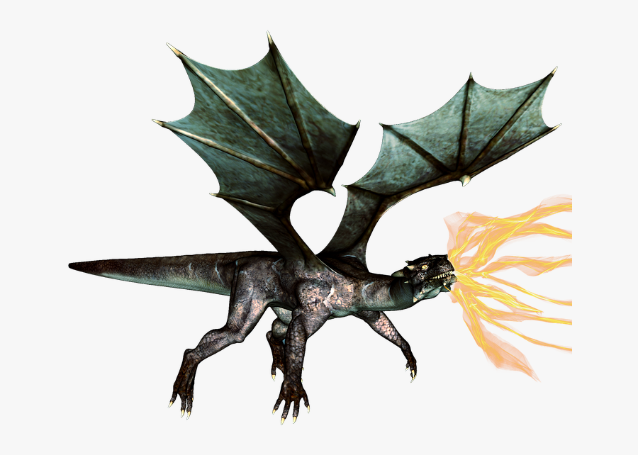 Download Fantasy Dragon Png Hd - Rhodes Medieval Dragon, Transparent Clipart