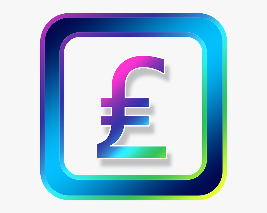 Icon, Pound, Money, Currency, Symbols, Online, Internet - Nippon Individual Saving Account, Transparent Clipart