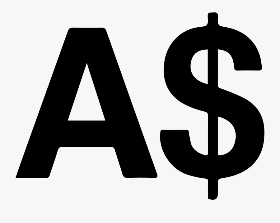Clip Art Australian Currency Symbol - Australian Dollar Symbol, Transparent Clipart
