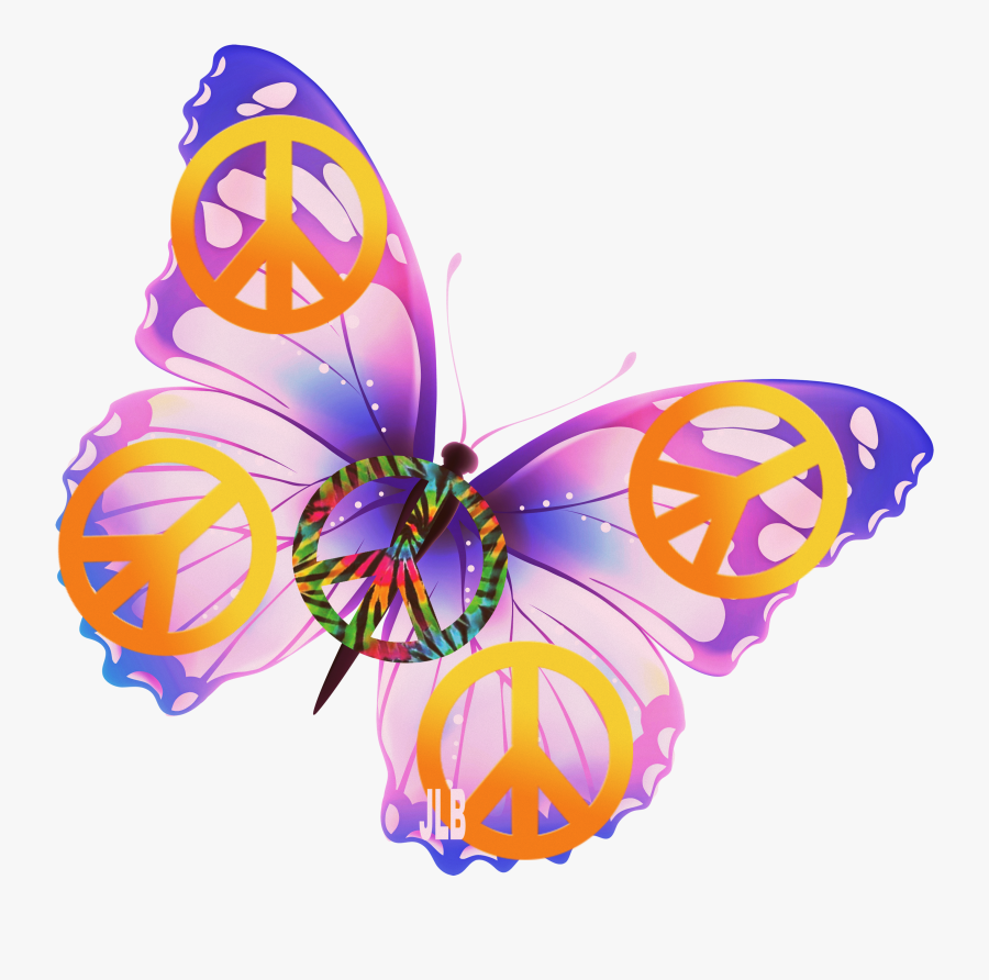 Emoji Clipart Butterfly, Emoji Butterfly Transparent - Butterfly Pink No Background, Transparent Clipart