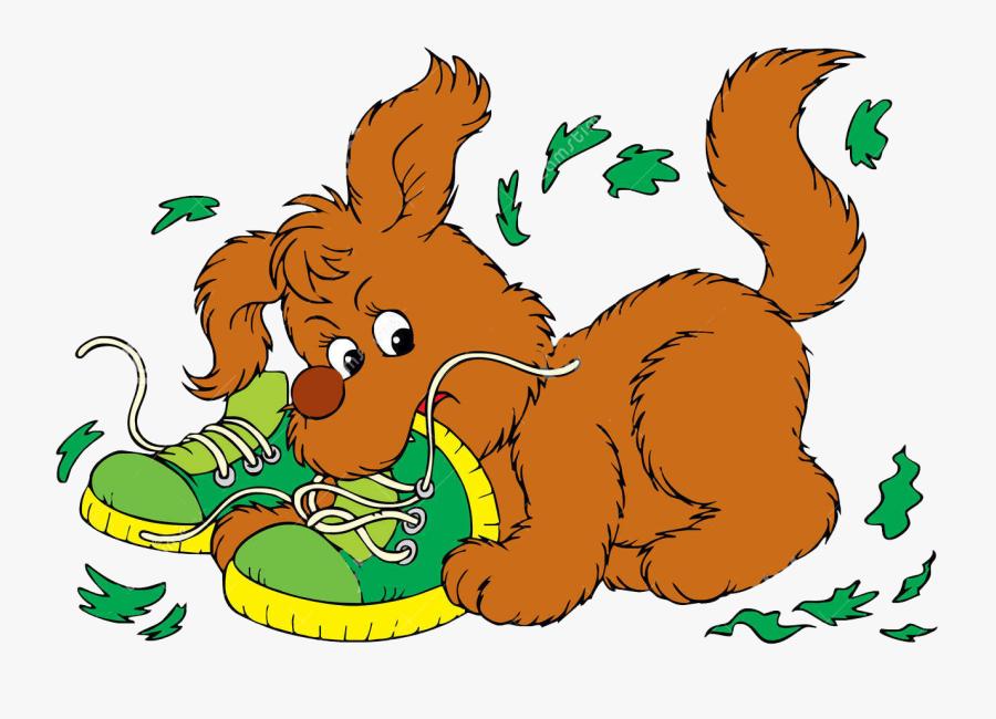 Clipart Squirrel Border - Dog, Transparent Clipart