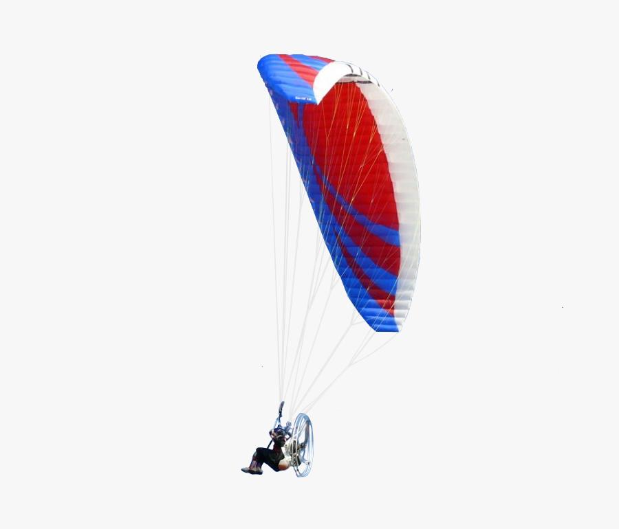 Powered Paragliding, Transparent Clipart
