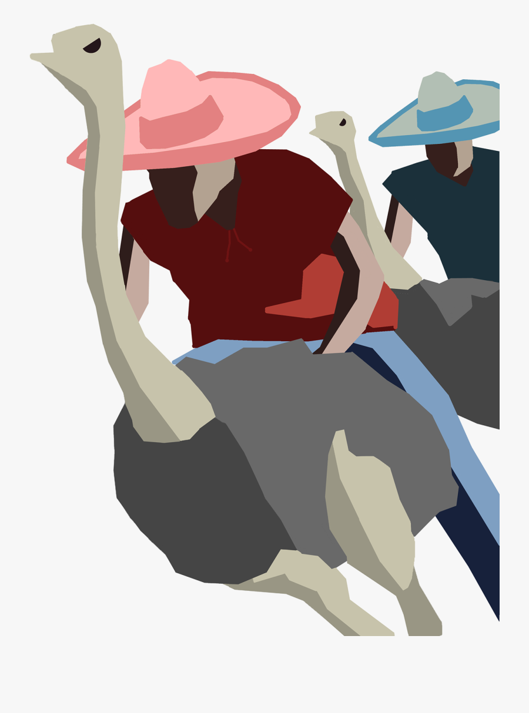 Travel Posters Design Debut - Flightless Bird, Transparent Clipart