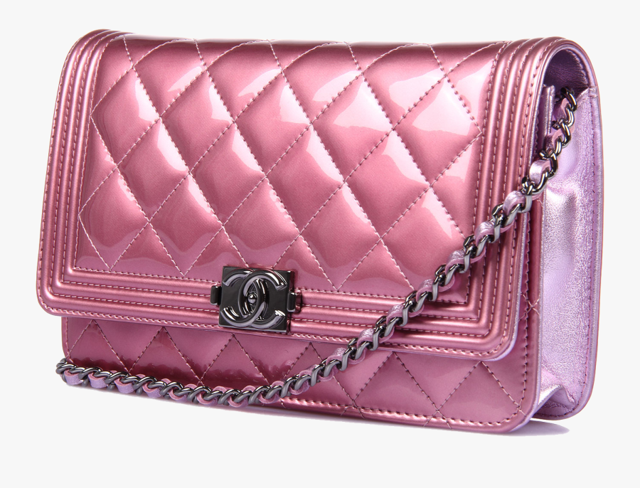 Chanel Handbag Pink Leather - Chanel Bags Png, Transparent Clipart