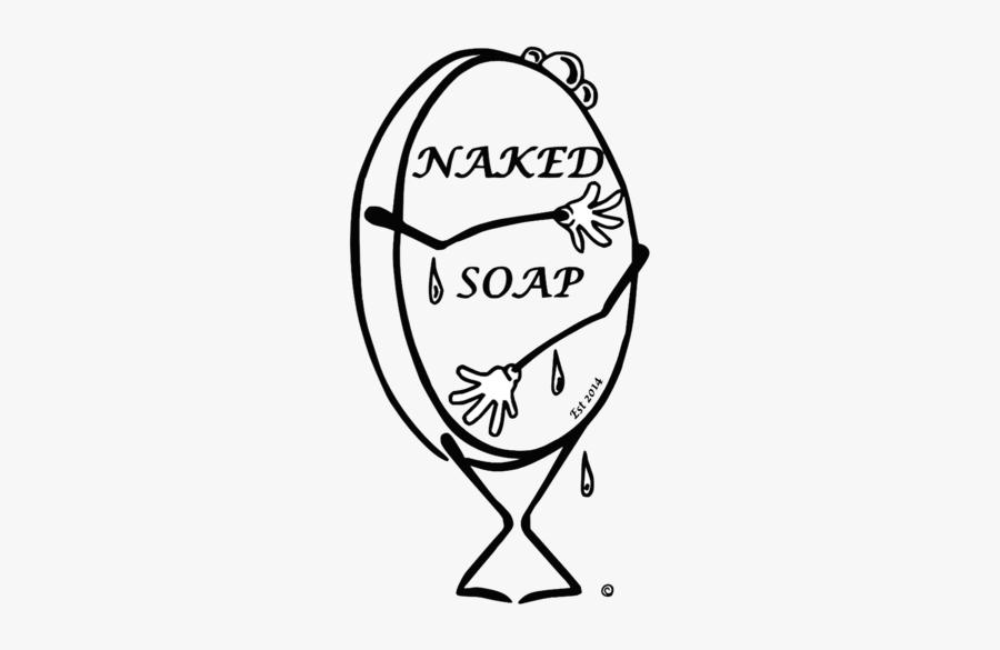 Naked Soap - Sketch, Transparent Clipart