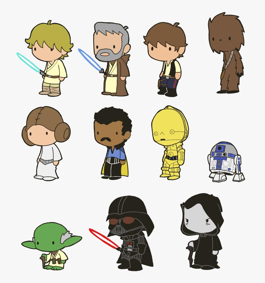 Transparent Star Wars Clip Art Cute Chibi Star Wars Free Transparent Clipart Clipartkey