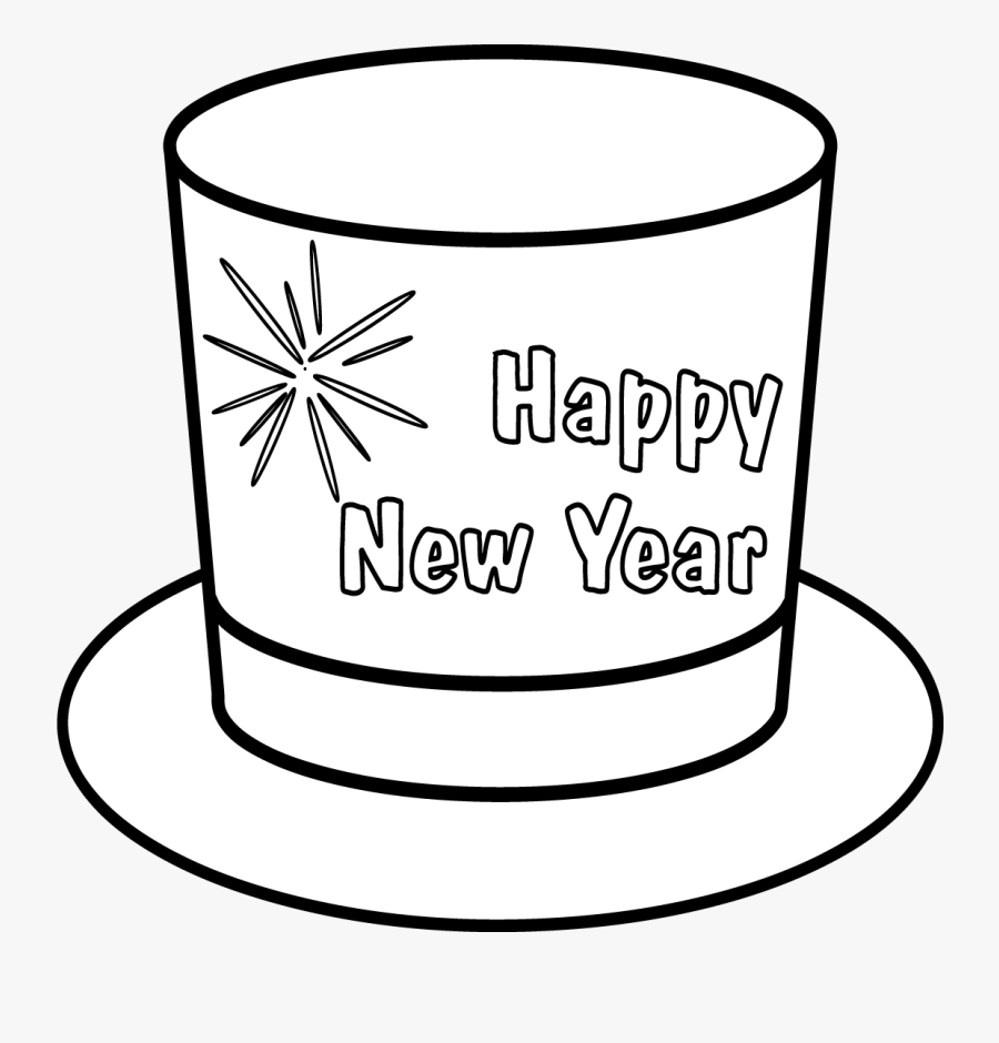 Transparent New Years Hat Png, Transparent Clipart