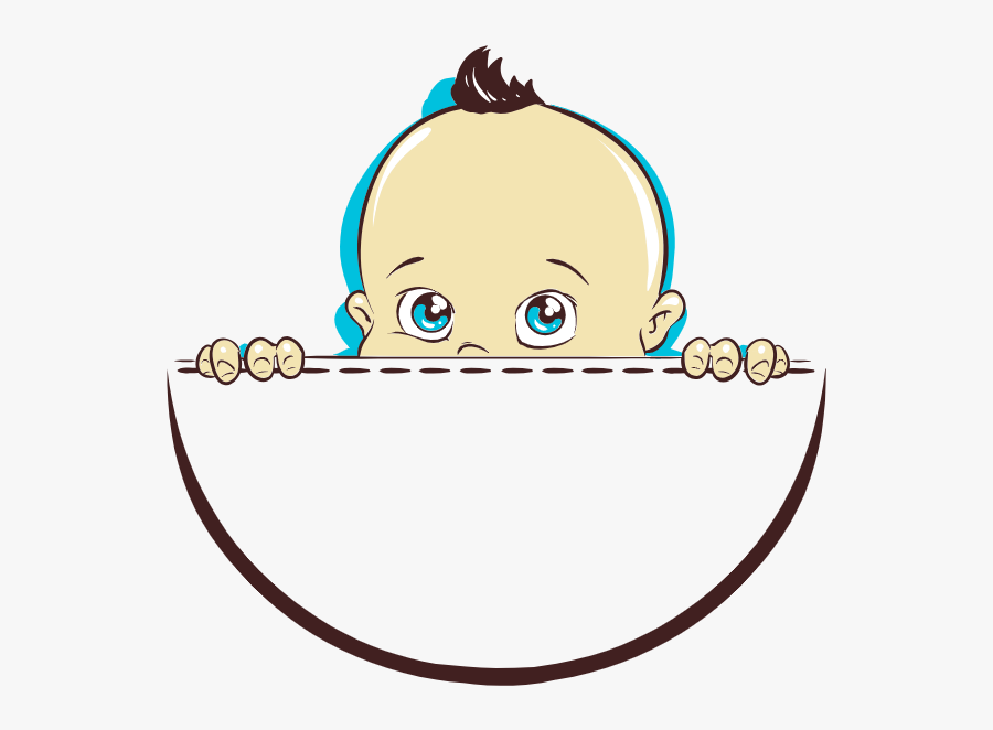 New Year Baby - Cartoon, Transparent Clipart