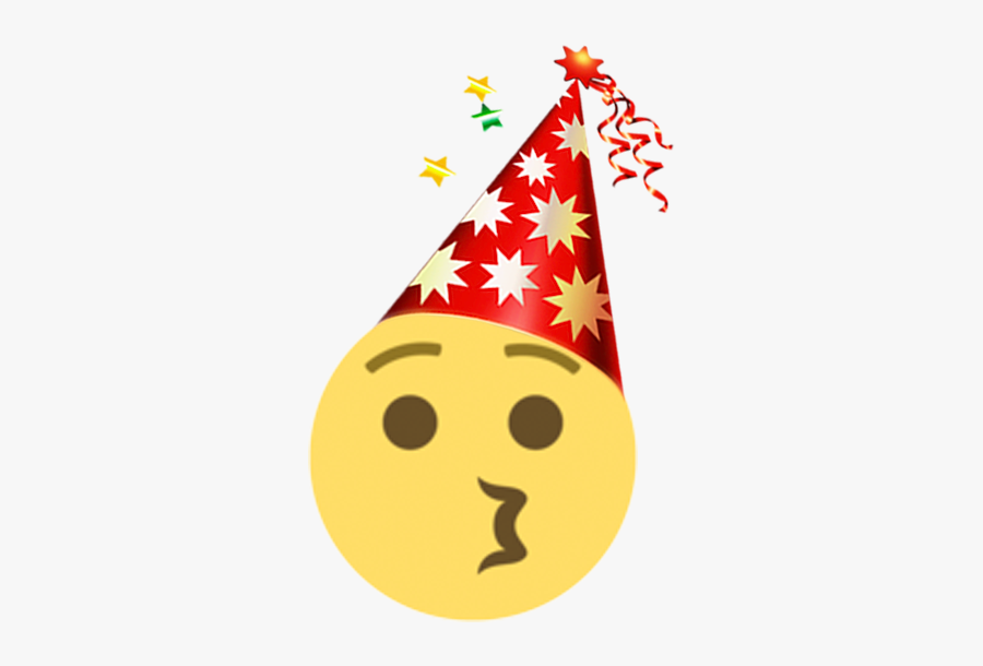 New Year Emoji - Portable Network Graphics, Transparent Clipart