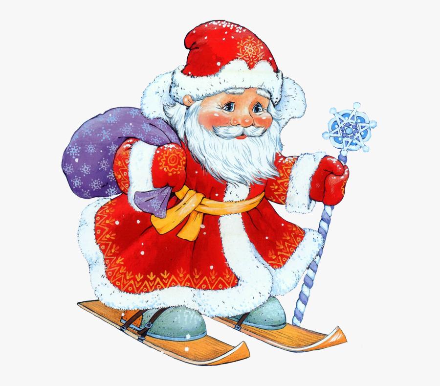Good Night Santa Claus, Transparent Clipart