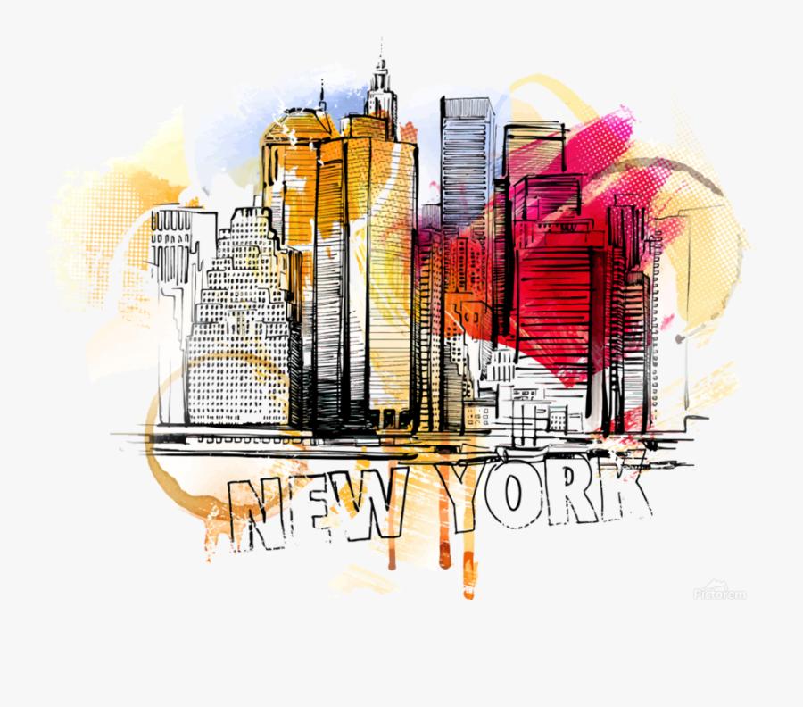 Нью Йорк Яркие, Transparent Clipart