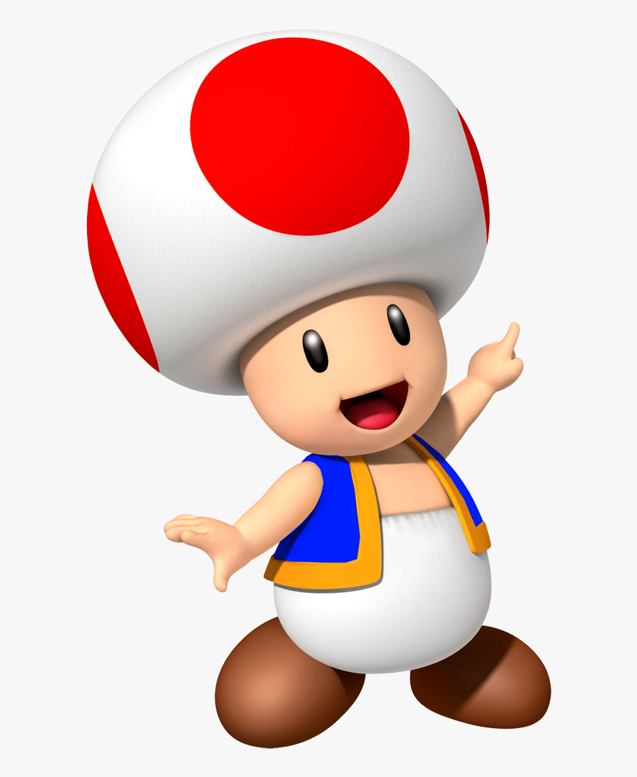 Toad Mario Play Boy Party Free Photo Png - Toad Mario Bros, Transparent Clipart