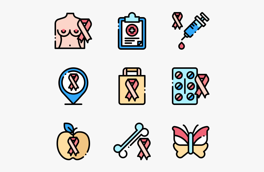 World Cancer Awareness Day - Medical Instruments Png, Transparent Clipart