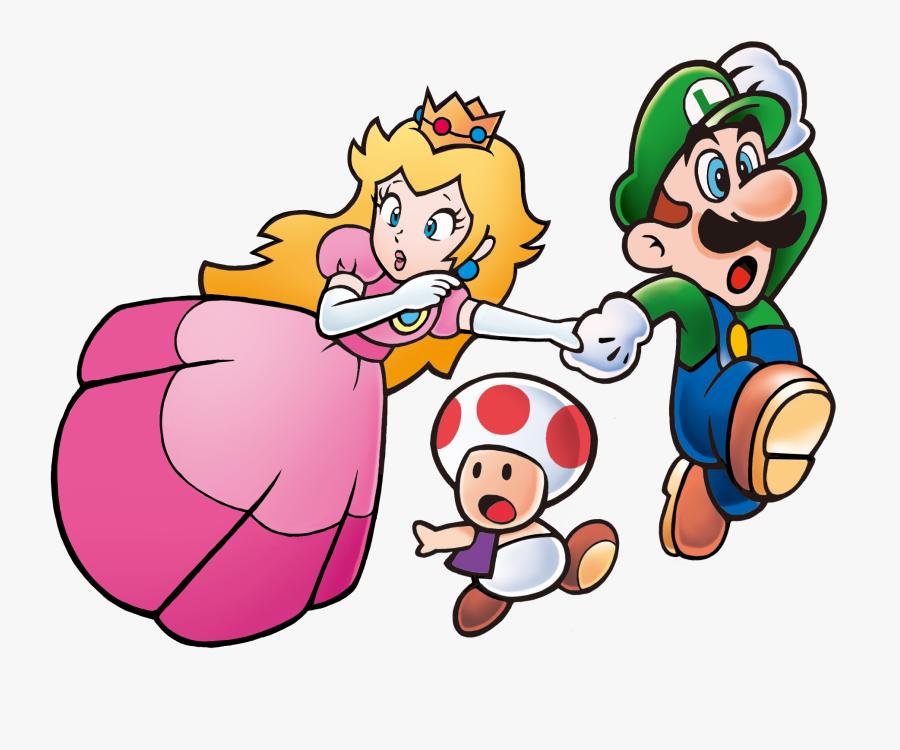 Transparent Super Mario Clipart - Super Mario Bros 3 Princess Peach, Transparent Clipart