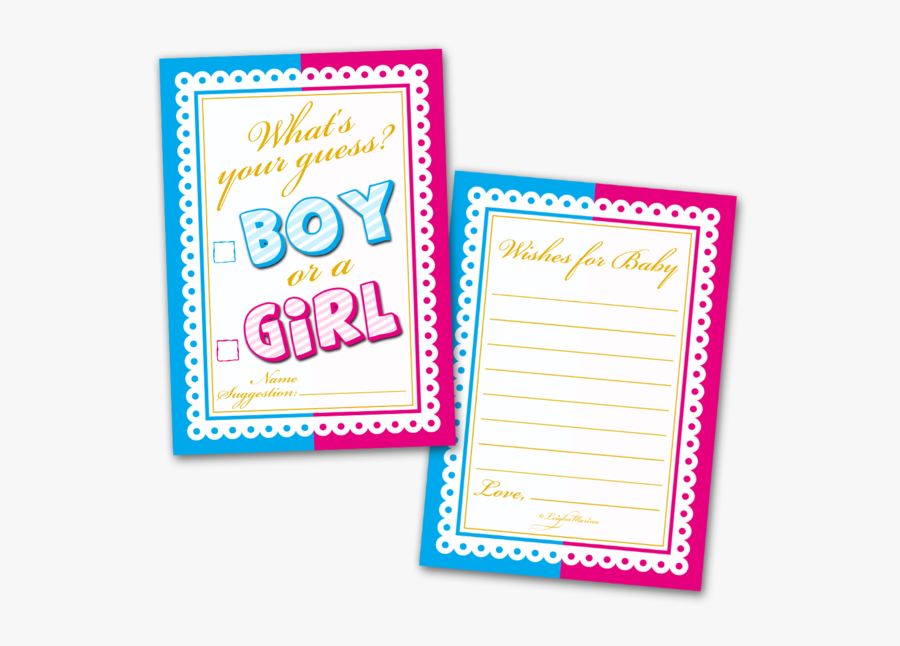 Transparent Boy And Girl Writing Clipart - Greeting Card, Transparent Clipart