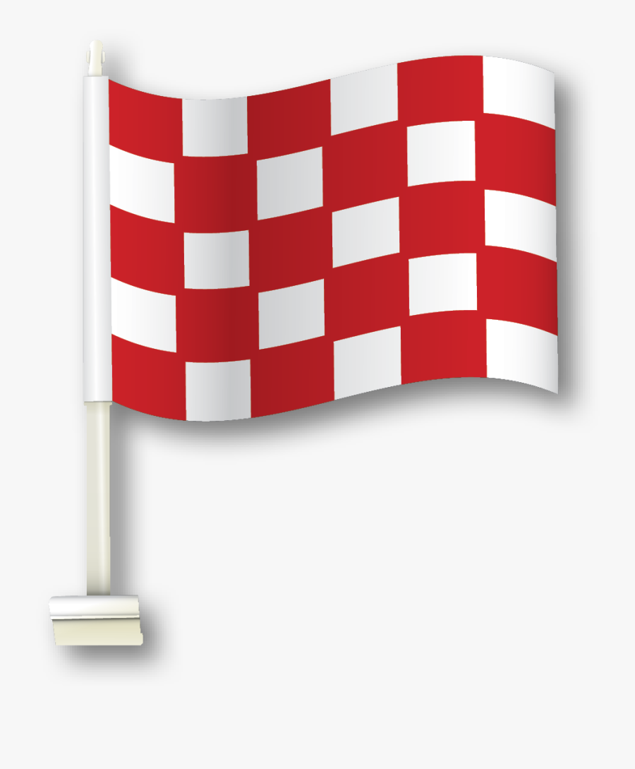 Larger / More Photos - White And Black Checkered Flag, Transparent Clipart