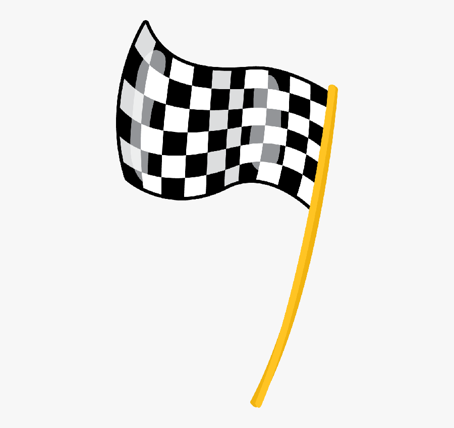 Race Car Checkered Flag Printable A1 Size, Transparent Clipart