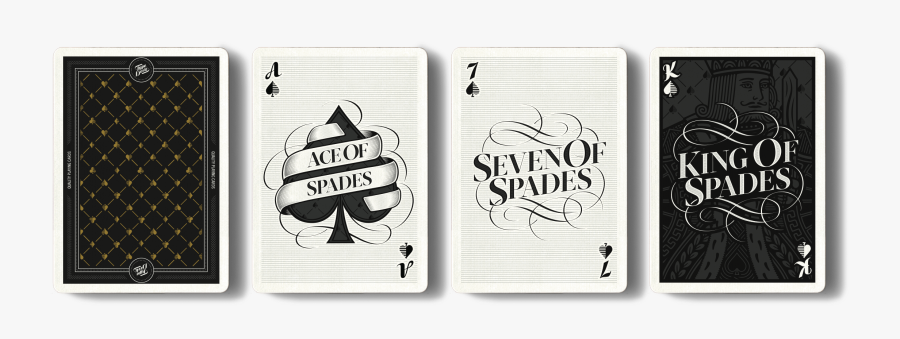 Clip Art Playing Cards Font - Playing Card Deck Typeface, Transparent Clipart