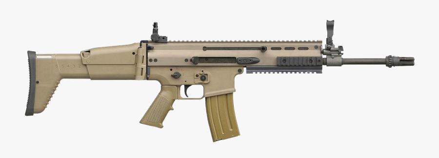 Fn Scar Png - Scar H Assault Rifle, Transparent Clipart