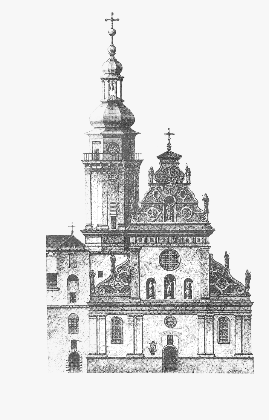 Transparent Church Steeple Clipart Black And White - St Basil Cathedral Metal Earth, Transparent Clipart