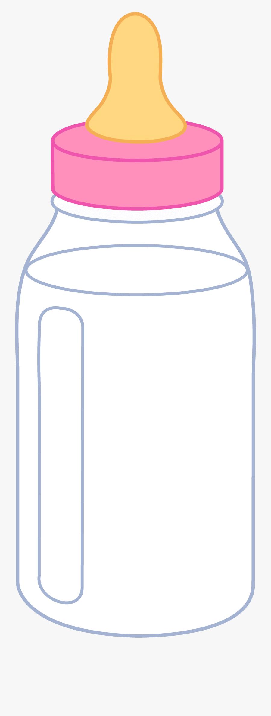 Cartoon Baby Bottle - Baby Bottles Clip Art Free, Transparent Clipart
