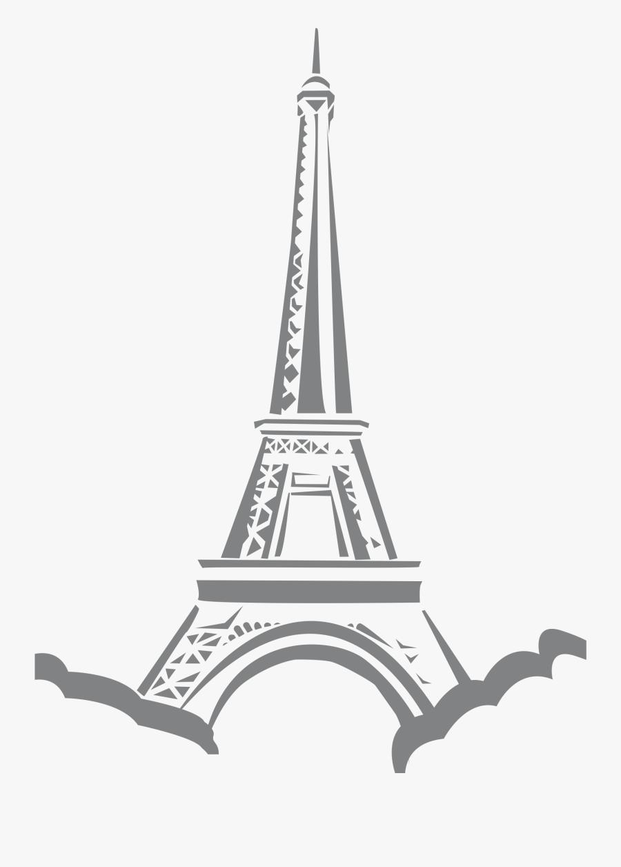 Eiffle Tower Paris Big - Paris Eiffel Tower Animation, Transparent Clipart