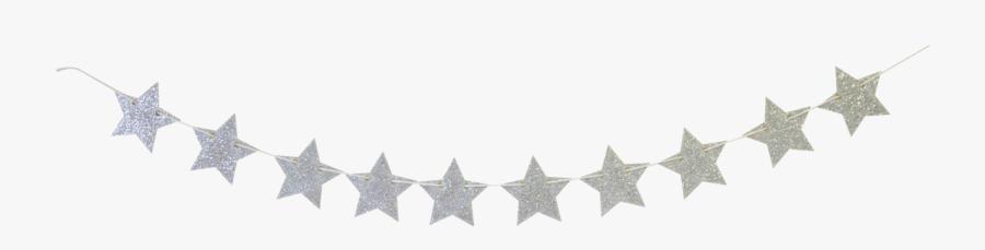 Party Banner - Mini Stars - Bracket - Gold Stars Banner Clipart, Transparent Clipart