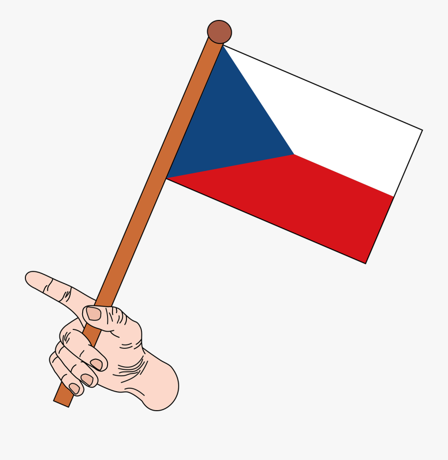 Flag Flag Of Czech Republic Czech Republic Free Picture - Flag Of Nepal Png, Transparent Clipart