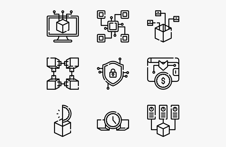 Blockchain - Testimoni Icon Png, Transparent Clipart