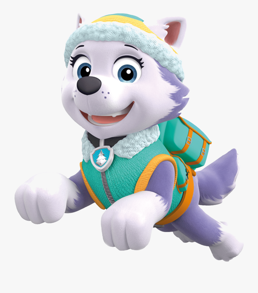 Paw Patrol Clip Art Disney Junior Buys Pikwik From - Everest And Skye Paw Patrol, Transparent Clipart