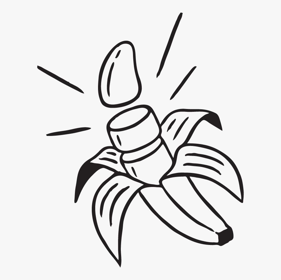 Sugar East Banana, Transparent Clipart