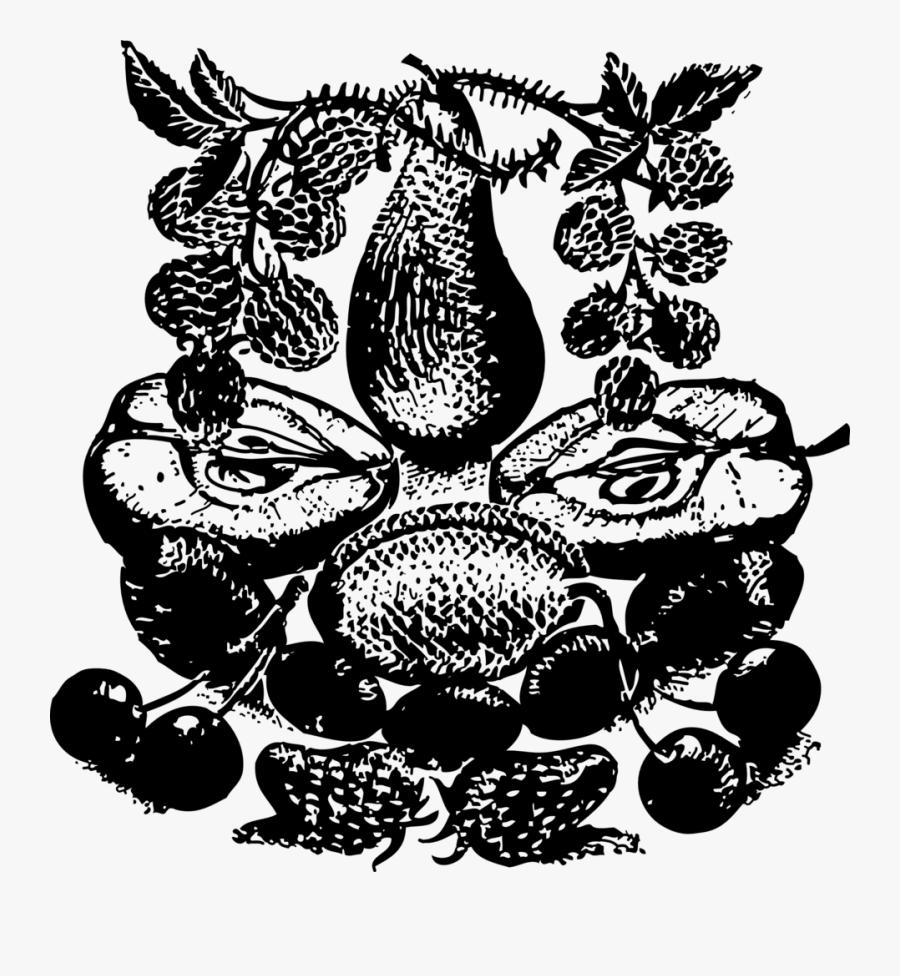 Gambar Buah Durian Siluet, Transparent Clipart