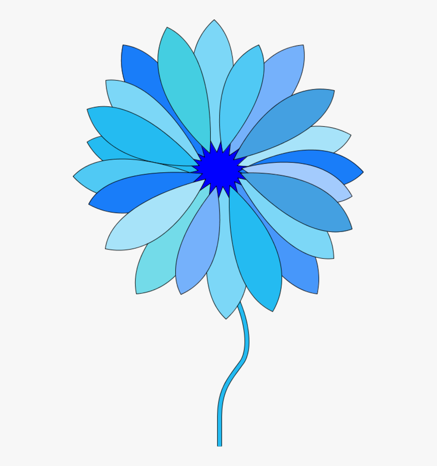 Flowers Vectors Clipart Animated - Flower Cartoon Gif Png, Transparent Clipart