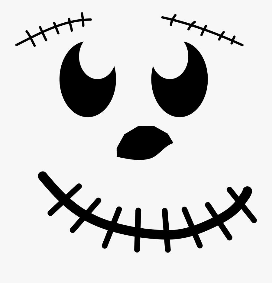 Smiling Pumpkin Face - Pumpkin Face Png, Transparent Clipart